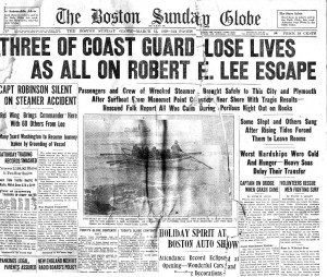 Boston Globe Front Page 3-11-1928